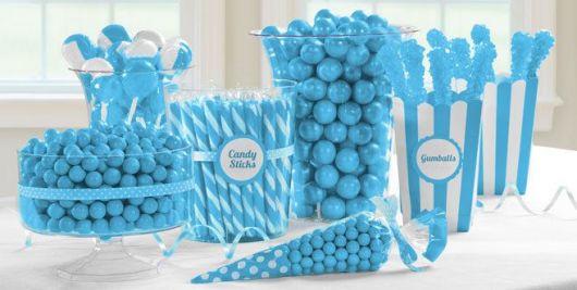 Fotos de decoração de mesa para Festa Frozen