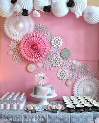 Sugestões de decoração de Festa Frozen em casa