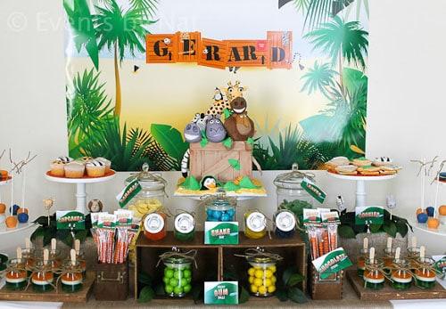 Festa Safari Decora 231 227 O Ideias Lindas E Simples