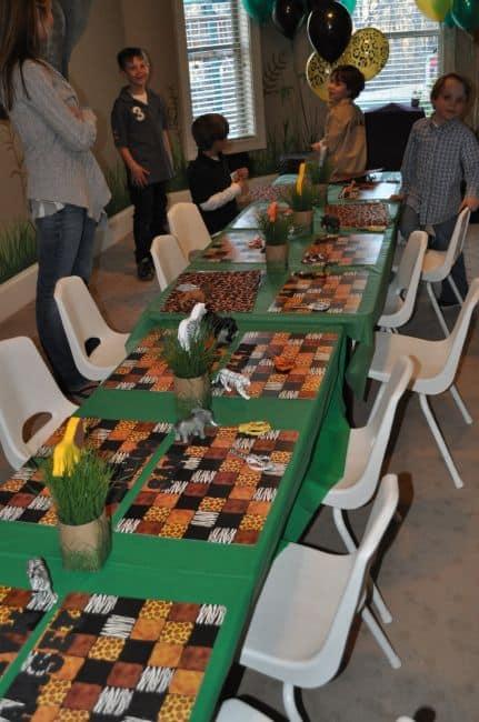 festa safari simples - ideias criativas