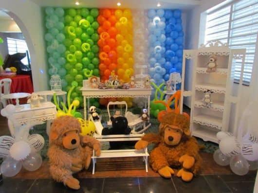 Como decorar festa provençal safari