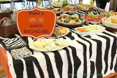 festa safari fotos - mesa linda