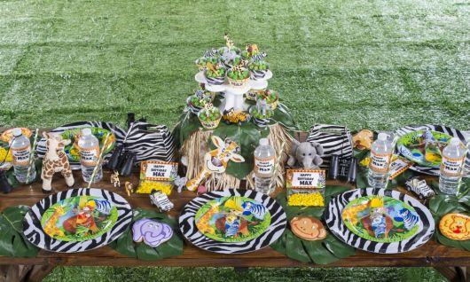 festa safari blog - zebrinha