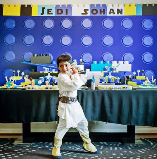 Festa star wars infantil