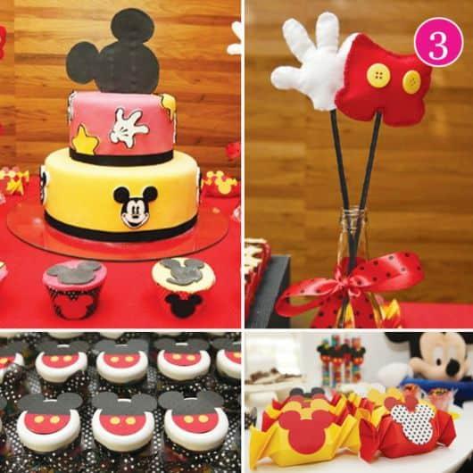 fotos de itens para festa do mickey