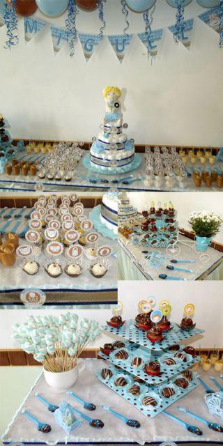 Docinhos e bolos personalizados para chá de fralda