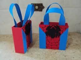 lembrancinhas Spider-man fácil de fazer