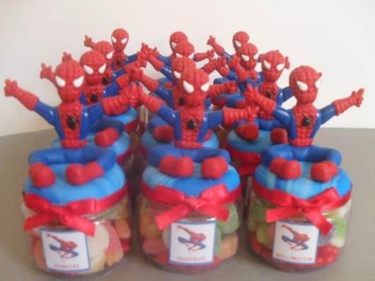 lembrancinhas criativas do homem aranha