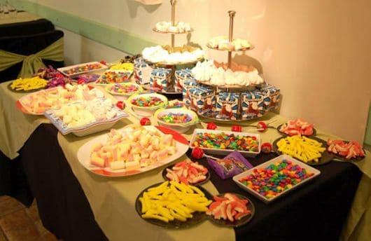 doces para enfeitar mesa de festa infantil