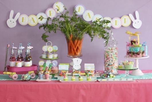 ideias para decorar mesa de doces de festa infantil