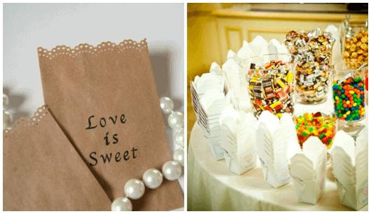 como fazer uma mesa de doces para festa infantil simples