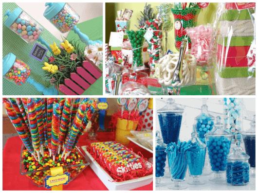 ideias de doces para por na mesa de aniversário