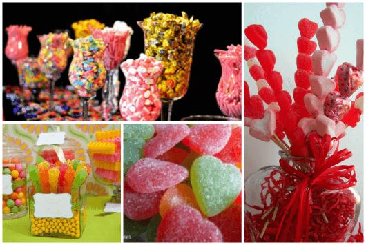 fotos de mesa de doces para festa infantil
