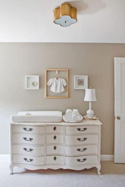 Dicas de móveis para Quarto de Bebê Provençal simples e baratos