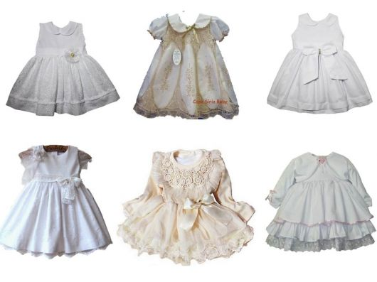 modelos de vestidos infantis de tecido