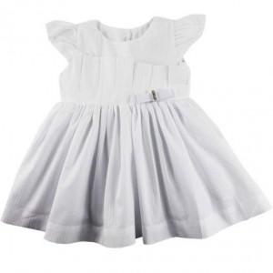 modelo de vestido branco infantil