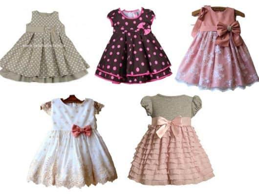 1371a9ad7c641c MODELOS DE VESTIDOS INFANTIS: 65 Ideias e Fotos!