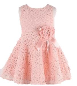 vestido para festinha cor rosa salmão