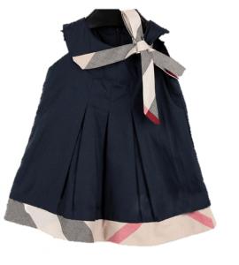 vestido de algodão infantil
