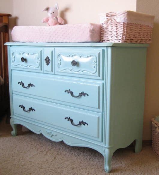 Dicas de móveis para Quarto de Bebê Provençal feminino e masculino