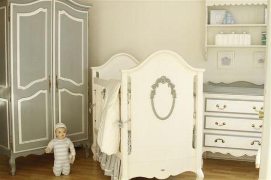 Dicas de móveis para Quarto de Bebê Provençal masculino