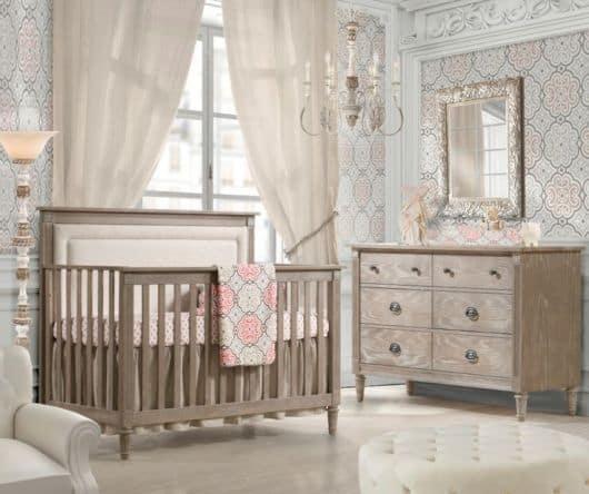 Dicas de cores para Quarto de Bebê Provençal de menina