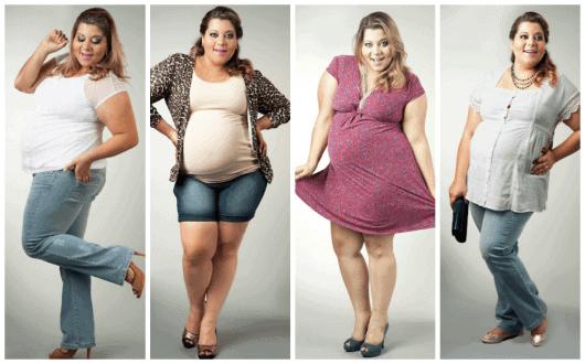 roupas para gestantes acima do peso