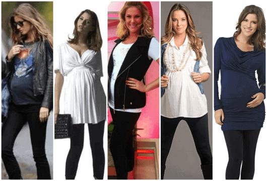 roupas para gestantes jovens - moda