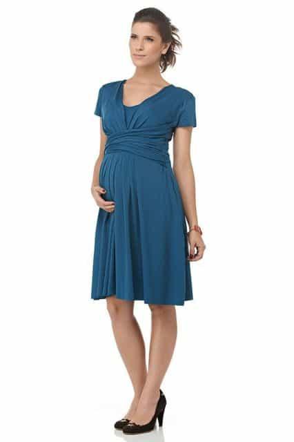 modelos de vestidos para gestantes