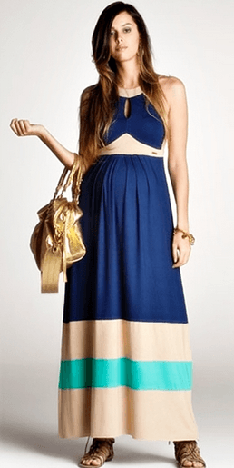 vestidos para gestantes plus size