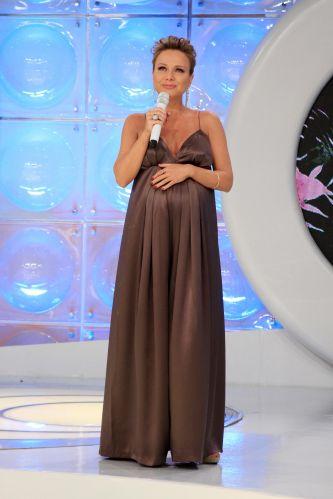 vestido de alça para grávida