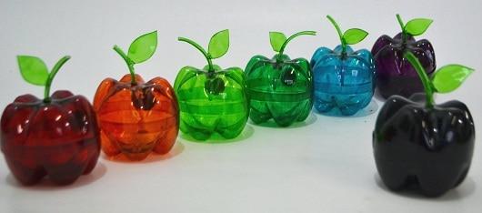 ideia criativa para aproveitar garrafa pet decoração