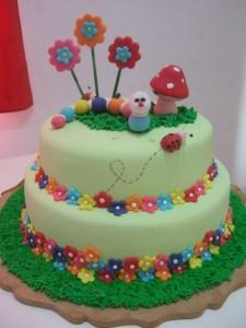 Fotos de bolos Jardim encantado