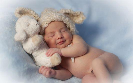 foto de book de recém-nascido