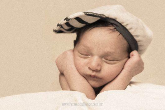 book fotografico de recém-nascido