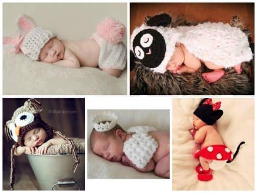 imagens de book de recém nascido