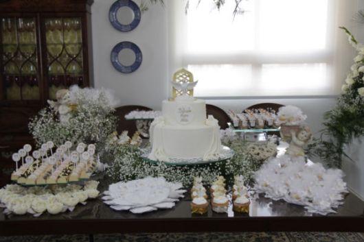 festa simples para batismo em casa