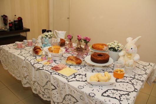 festa de batizado fácil em casa