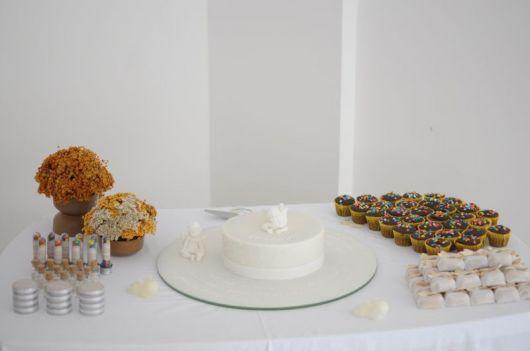 fotos de bolo de batizado