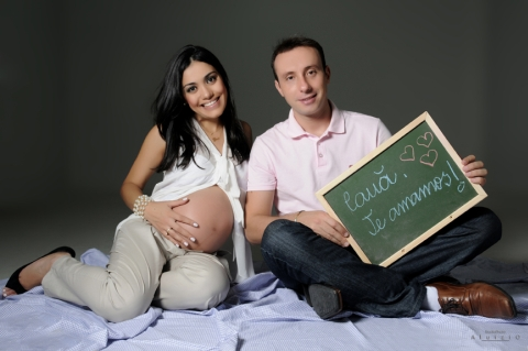 fotografia de grávidas com companheiros