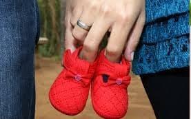 Foto para ensaio de grávida ao ar livre