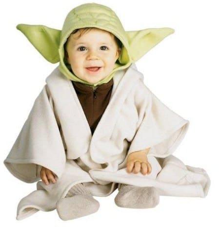 fantasia Yoda Star Wars para bebê