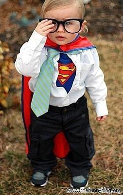Fantasia fácil e barata - Super Homem