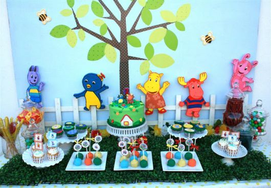 festa backyardigans na floresta