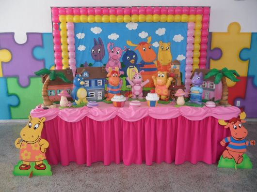 festa backyardigans 1 ano