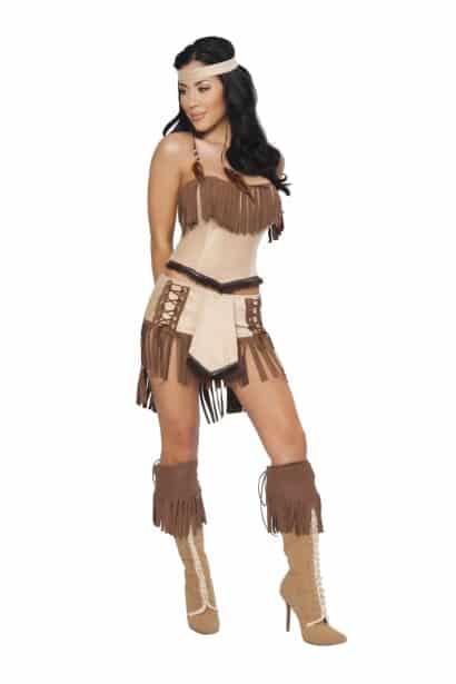 Foto fantasia Pocahontas