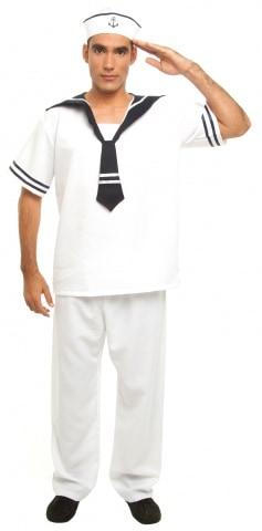 homem vestido de marinheiro