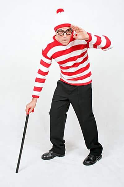 Fantasia onde está o Wally