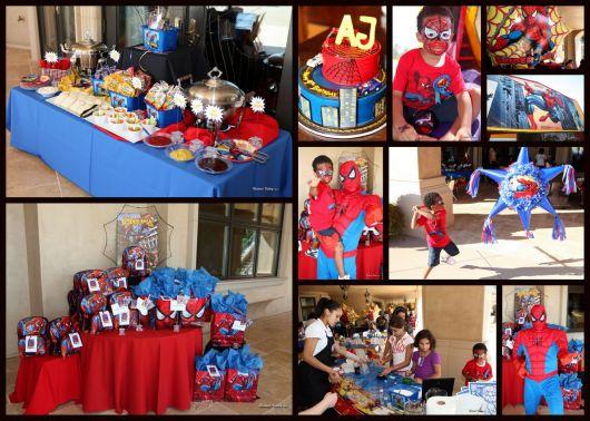 Festa Do Homem Aranha Decora 231 245 Es Kits Fotos