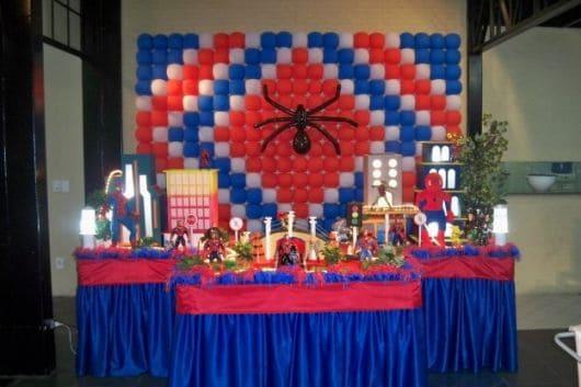 dicas festa homem aranha